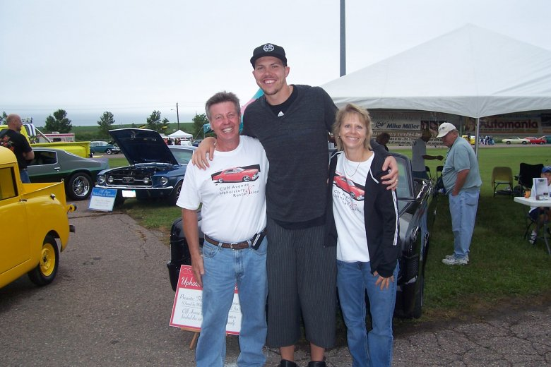 Ennis and Nancy with Mike Miller at Automania
