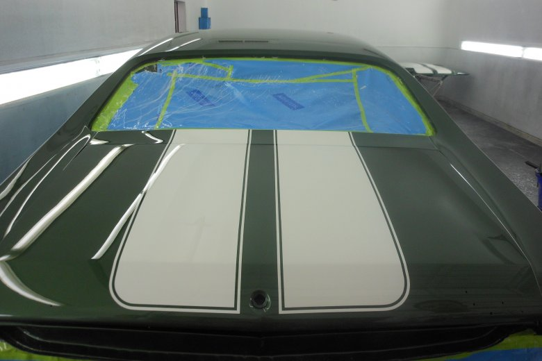 Here are a few pictures of the car after being wet sanded and buffed.