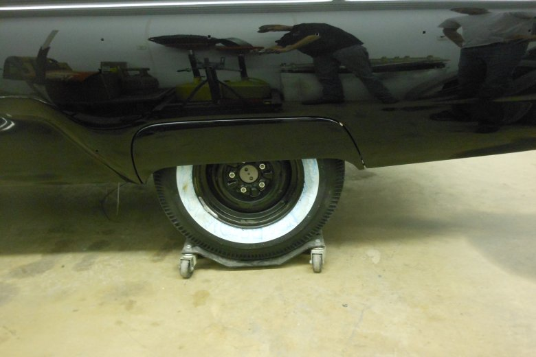 Here are the fender skirts.