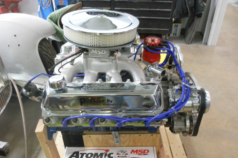 Here is the power plant its a 460 stroked to 501 that makes 525 horsepower and 625 ft/lbs. of torque.